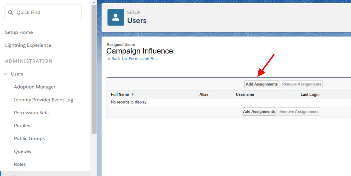 Campaign Influence Setup 6.9