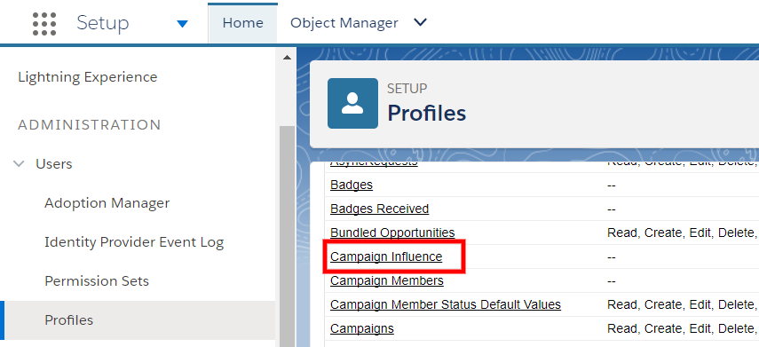 Campaign Influence Setup 7
