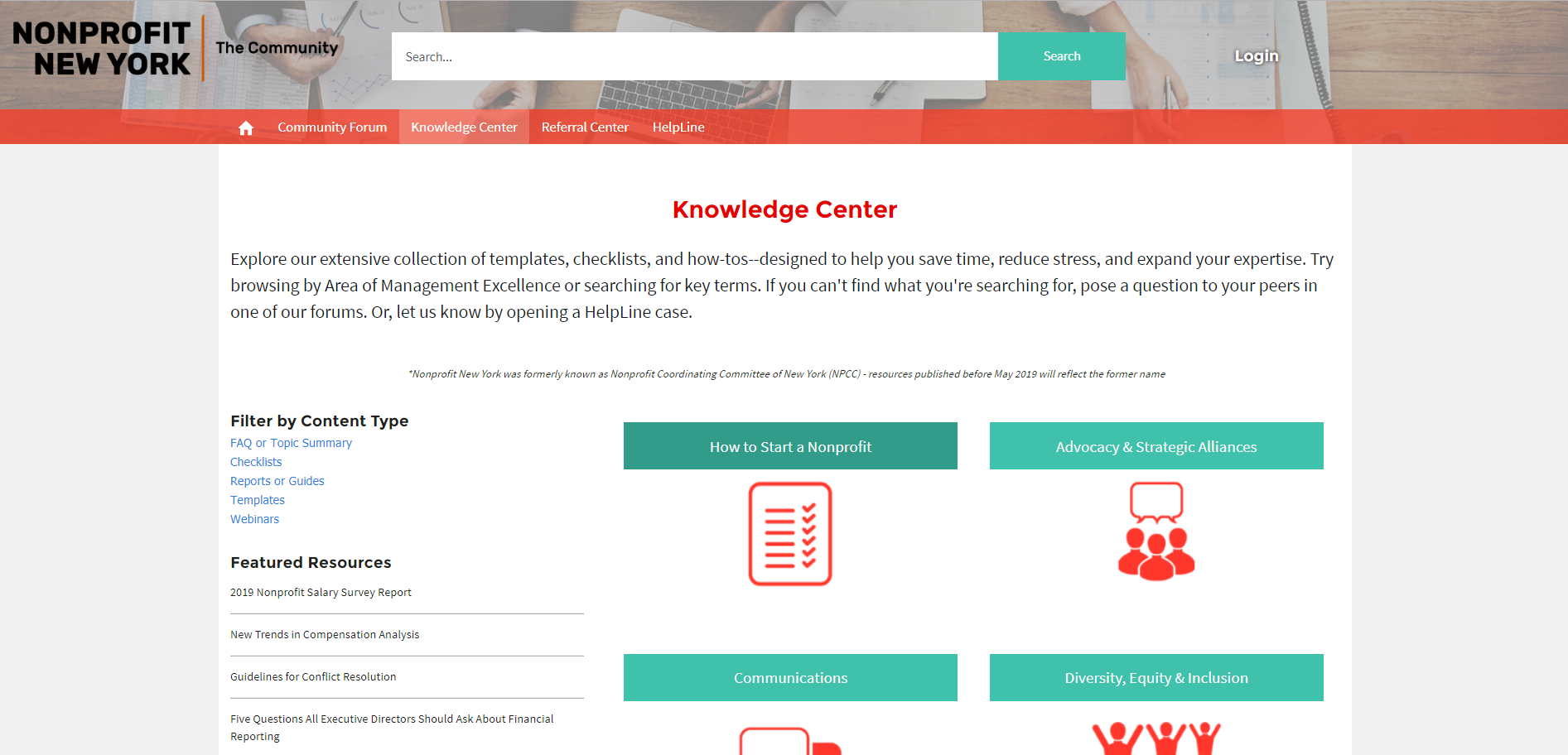 The Knowledge Center for the Salesforce Community