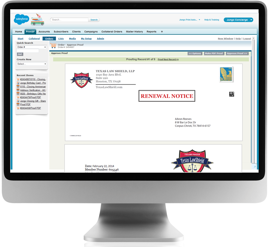3 benefits to integrating direct mail and Salesforce