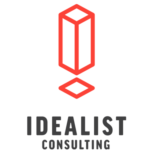 The Idealist Consulting rebrand logo 2017